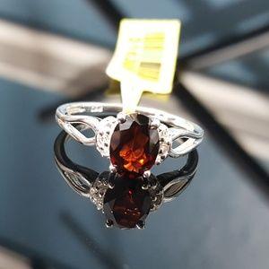 Jewelry - Mozambique Garnet n White Topaz